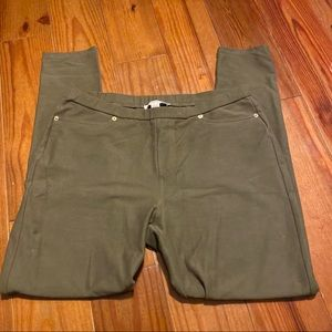 Michael Kors Army green Skinny pants